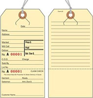 Lay Away/Alteration/Repair Tags (5X)
