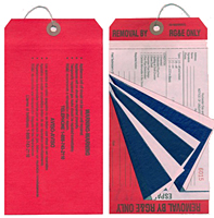 Multi-Part Custom Safety Warning Tags (MLT-1551)