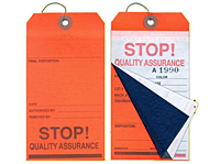 Multi-Part Quality Assurance Tags (MLT-1552)