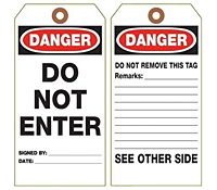 Danger Tags