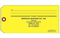 Shellfish & Seafood Harvest Tags (SH-1491)