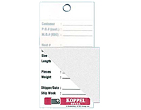 Self Laminating Tags & Self Seal Labels