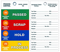 Weatherproof Process Control Tags (WPT-1789)