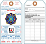 Fire Extinguisher Annual and Monthly Safety Inspection Tags (FT-1756)