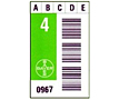 Preprinted Barcode Calibration Labels (BCL-1390)
