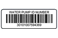 Preprinted Weatherproof Barcode Labels (BCL-1396)
