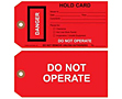Danger Tags Do Not Operate (DT-1430)