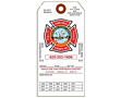 Fire Extinguisher Annual Inspection Tags (FT-1480)