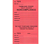Custom Printed Labels - Production Control Numbered Label (CL-1534)