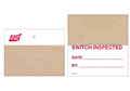Self Laminating Plastic Inspection Tags