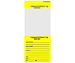 Self Laminating Tags - Equipment Deficiency Tags