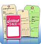 Stock Products, Tags and Labels
