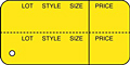 All Purpose Marking Tags (T-3 YELLOW-NS)