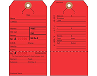 Lay Away/Alteration/Repair Tags (2SORD)