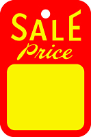 Sale & Promotional Tags (316Y)