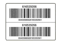 Preprinted Barcode Harsh Environment Labels (BCL-1790)