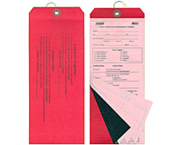 Multi-Part Hazardous Condition Tags