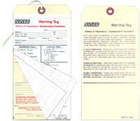 Multi-Part Warning Tags (MLT-1549)