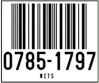 Preprinted Barcode Warehouse Labels (BCL-1385)