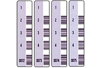 Preprinted Barcode Pharmaceutical Labels (BCL-1395)