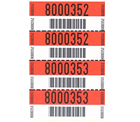 Barcode Waterproof Hang Tags (BCT-1401)