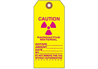 Custom Yellow Caution Tags (CT-1417)