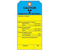 Custom Printed Caution Tags (CT-1424)
