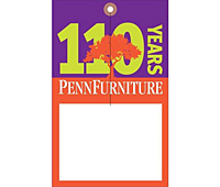 Custom Printed Full Color Furniture Hang Tags (FC-1475)