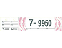 Jumbo Numbered Tags (JNT-1515)
