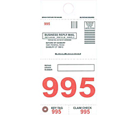 Jumbo Numbered Tags (JNT-1517)