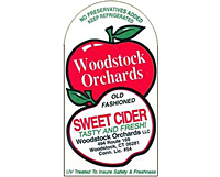 Custom Printed Labels on Rolls - Apple Cider Bottle Label (CL-1527)