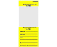 Self Laminating Information Tags