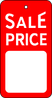Sale & Promotional Tags (ST640)