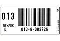 Preprinted Barcode Tracking Labels (BCL-1387)