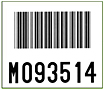 Preprinted Barcode Pallet Labels (BCL-1388)