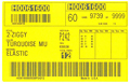 Preprinted Barcode Labels With Variable Data (BCL-1389)