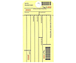 Barcode Inventory Hang Tags (BCT-1405)