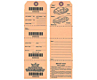 Barcode Valet Hang Tags (BCT-1407)