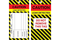 Custom Printed Caution Tags (CT-1415)