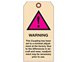 Warning Hang Tags Custom (WT-1439)